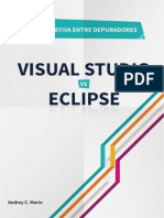 Comparación Depuradores Eclipse vs Visual Studio