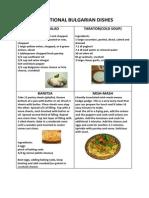 Bulgarian Dishes