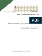 Manual - Elaboração de Pareceres Técnicos