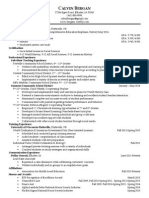 teaching resume version 2 0