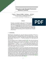 5106 Faster Ridge Regression via the Subsampled Randomized Hadamard Transform