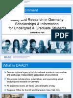 DAADundergrad and Grad