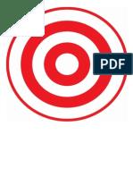 Target 5 - X3 - Practise Target - 20m - 60m