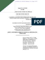 51-1 Judicial Defendants' Answering Brief