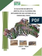EsIA-Clausara Botadero San Antonio