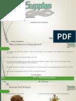 Seaweed biopolymer