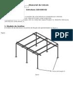 Modelo Memorial Cálculo Estrutural