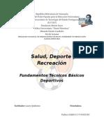 Fundamentos Técnicos Basicos Deportivos