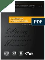 Colección Jorge Carpizo – XXIII – Laicidad y Educación – Carlos Martínez Assad