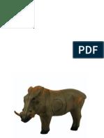 Target 10 - Warthog Paper Targets (A3)