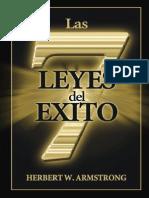 Herbert Armstrong_Las Siete Leyes Del Exito