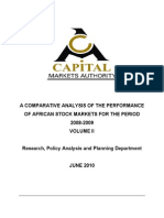 A Comparative Analysis of Theperformance o FAfrican Capital Market Volume 2 2010