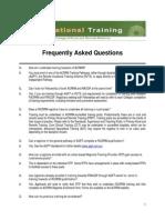 Training Pathways FAQ's 2012 _0