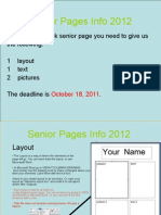 How To Build a Senior Page