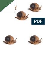 Target 15 - Snails Paper Targets (A4)