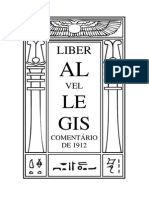 Liber AL Vel Legis (Comentario Antigo) Port