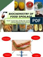 Biochemistry of Food Spolaige