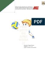Proyecto de Aprendizaje Voleibol