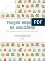 Traços Urbanos Da Amazônia