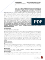 Desarrollo Museo Paleontológico Ciudad de México