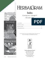 Herbal Gram Index v1-67