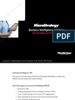 MicroStrategy Mobile Healthcare Providers Brochure