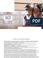 Teacher Education Capacity Development - Haiti