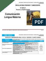 IV Ciclo Comunicación Dre Cusco
