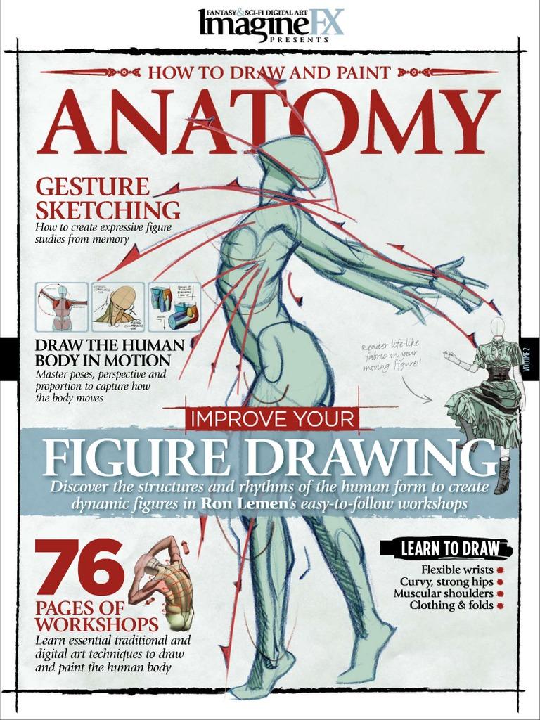 Imaginefx How To Draw And Paint Anatomy Volume 2