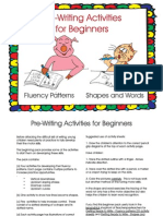 Pre Writing for Beginners