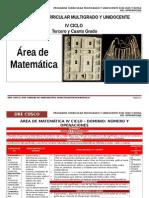 IV Ciclo Matematica-Agp- Dre Cusco