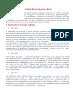 A História Da Sociologia No Brasil