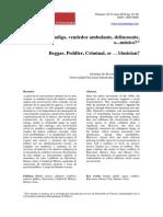 ¿Mendigo, vendedor ambulante, delincuente, o... músico?  Quaderns-e Institut Català d' Antropologia, 18(2), Any 2013