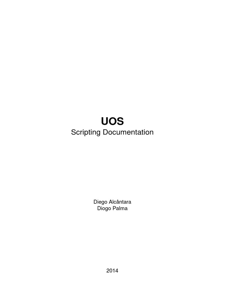 UO Steam documentation | Control Flow | Bracket
