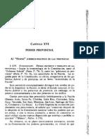 Manual de Derecho Constitucional. Nestor P. Sagues. Capitulo 16