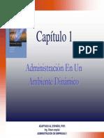 Cap-1(2007) Administracion en Un Etorno Dinamico