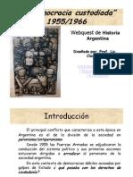 Democracia Custodiada 1955 1966