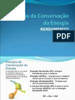 Principio Da Cons.de Energia e Rendimento