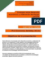 Estrategias de desarrollo territorial