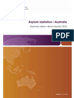 Asylum Stats March Quarter 2013