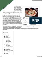 Pizza - Wikipedia, The Free Encyclopedia