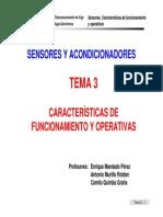 Caracteristicas de Funcionamiento y Operativas