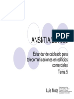 ANSI_TIA_EIA 568 Cableado Para Telecomunicaciones en Edificios Comerciales