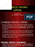 Chinese Peking Opera