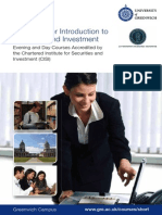 Certificate for Introduction to Securities and Investment_2011