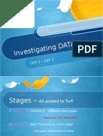 data cat 1 intro work