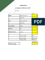 Welding Variable Calculator AS1554.1