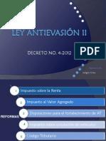 Ley Antievasión II
