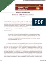 Biblioteca Virtual Latinoamericana-Historicismo