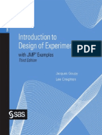 Introduction to Design of Experiments